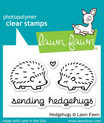 LF0729 S ~ HEDGEHUGS ~ CLEAR STAMPS BY LAWN FAWN